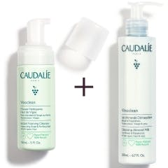 皇牌潔面組合:潔面泡沫 X 保濕潔面乳